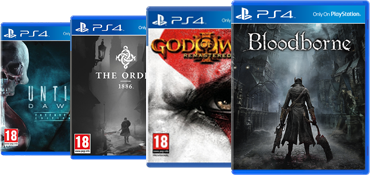 PlayStation 4 Exclusive Games